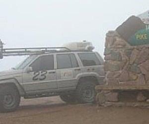 Autonomous Jeep Conquers Pikes Peak
