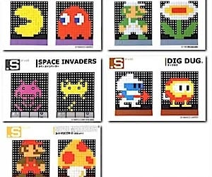 Create Your Own Video Game Bitmap Art