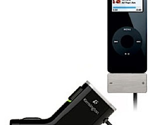 iPod FM Transmitter Broadcaststrack Info to Your Car Stereo