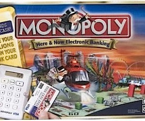 New Monopoly Game to Lose Paper Money