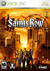 Saints Row Box Art