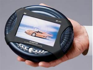 Audiovox D1420 Portable DVD Player
