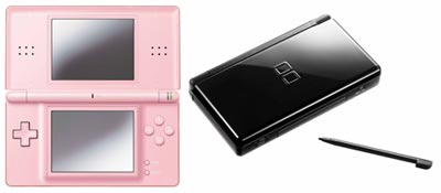 Nintendo DS Lite in Pink and Black