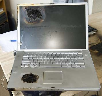 Another Powerbook Bites the Dust…