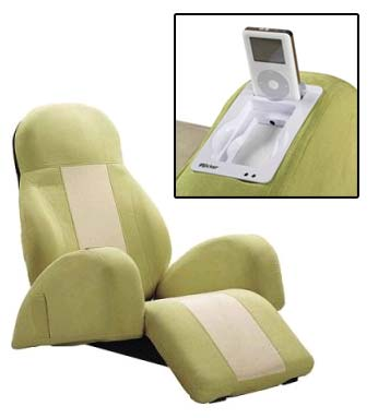 Irocker Chair With Built-in iPod Dock