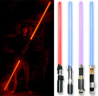 Get Your Geek on With These Badass Lightsabers