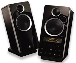 Logitech Z-10 Speaker System with ID3 Display