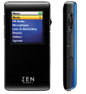 Creative Announces Zen Neeon 2 Mp3 Players
