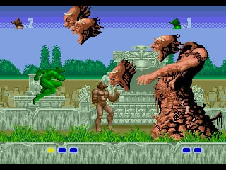 Altered Beast Screenshot Sega Genesis