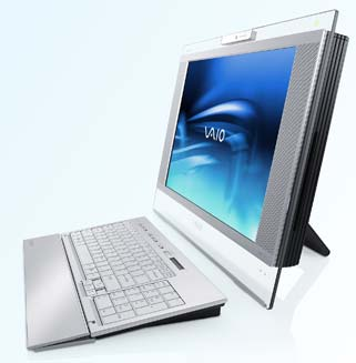 New Sony Vaio Combines Tv and Pc