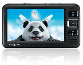 Creative Announces Widescreen Zen Vision W
