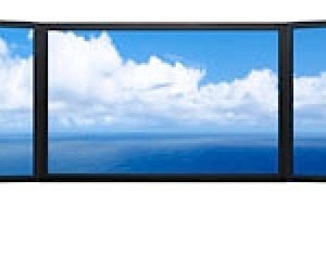 Massive Panoramic Computer Display