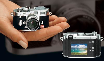 Minox Classic Camera Gets 5 Megapixel Love