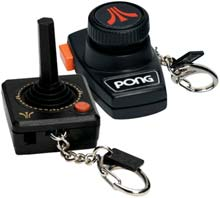 Miniature Atari 2600 Games on Your Keychain