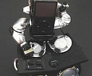 Robotic DJ iPod Dock