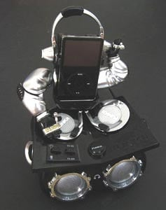 FUNKit Robotic iPod Dock