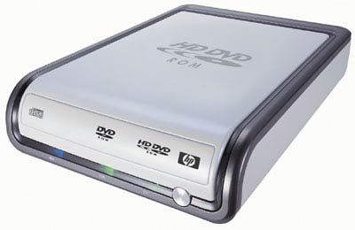 HP HD100 HD-DVD Player