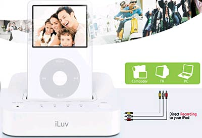 iLuv i180WHT iPod Video System