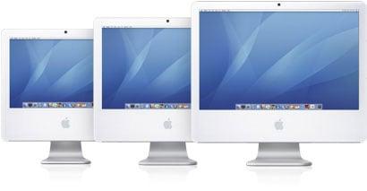 iMac 3 sizes