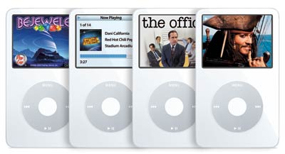 iPod Multimedia Games, Music, TV, Movies