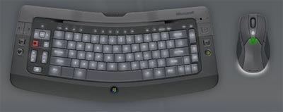Microsoft Wireless Keyboards to Feature Backlighting