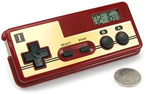 Nintendo NES Controller Alarm Clock