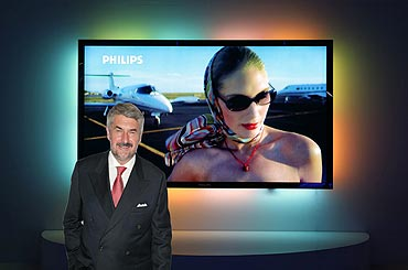 Philips 100-inch LCD with Ambilight