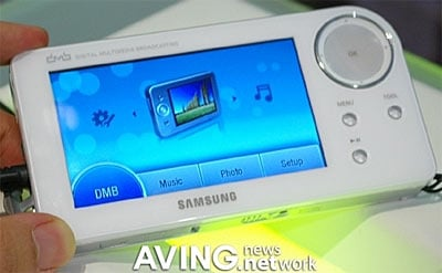 Samsung Shows Portable Broadband Tv
