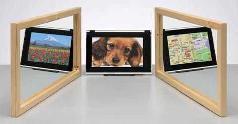 LCD Permits Different Content From Different Angles