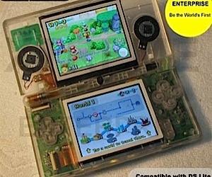 Clear Case Mod for Nintendo Ds Lite