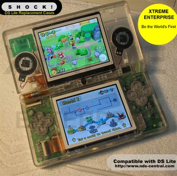 SHOCK! DS Lite Clear Case Mod