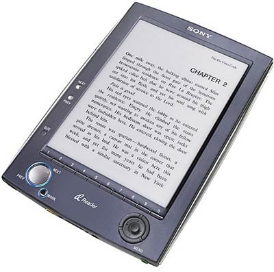 Sony E-Book Reader Pricing and Launch Date Announced