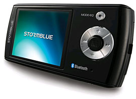 Bluetooth Mp3/Mp4 Player From Stormblue