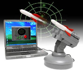 Cool Cubicle Toy of the Day: USB Missile Launcher
