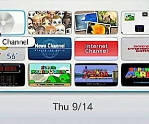 More on the Wii Channel Menu