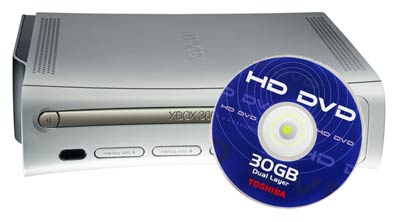 Rumor Alert: Xbox 360 to Get Built-in HD-DVD in 2007?