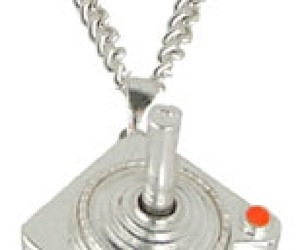 Atari Joystick Necklace