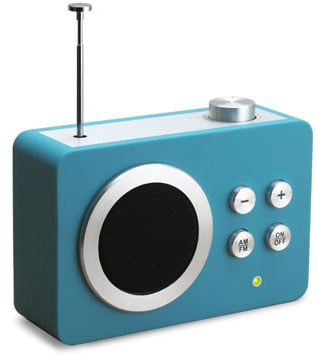 Portable Fm Radio Goes Retro