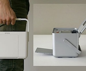 Epson Shows Off New Industrial Design for Portable Printers