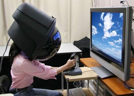 Giant Helmet Television