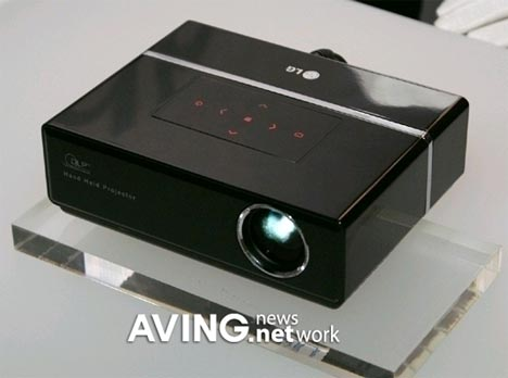LG Shows Off Tiny Dlp Projectors