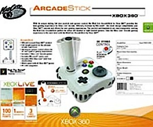 Xbox 360 Arcade Joystick Available for Pre-Orders