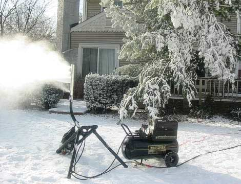 Make Your Own Snowstorm