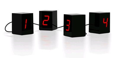 Open Edition LED Clock