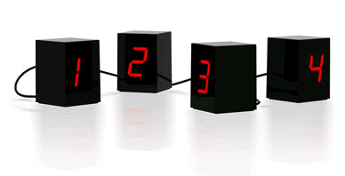 The Deconstructed LED Clock