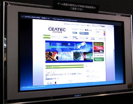 Sony Shows Web Browser for Playstation 3