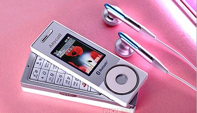 Samsung X838 Slick New Mp3 Phone
