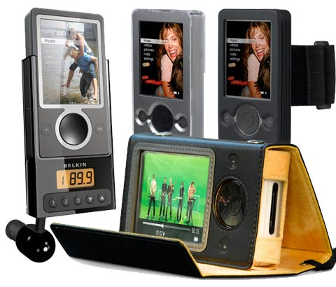 Belkin Shows Zune Accessories