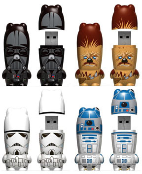 Star Wars Mimobot Memory Sticks