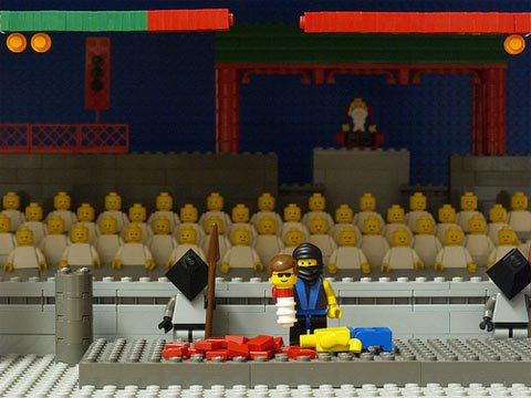Mortal Kombat in LEGOs